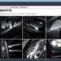 2020年7月德国曼MANTIS卡车客车与发动机配件目录系统