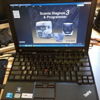 2021年斯堪尼亚 SCANIA VCI3 multi 斯卡尼亚卡车柴油车专用检测仪带全新品牌笔记本电脑